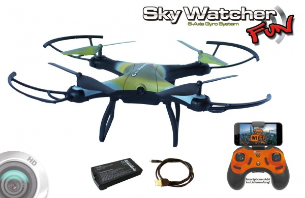 SkyWatcher FUN - WIFI - RTF - FPV 20 MIN.