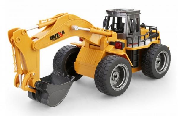 BAGR HN530 Excavator - 1:18 s kovovou lžící