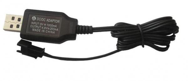 USB nabíječka  4.8V 250mA SM