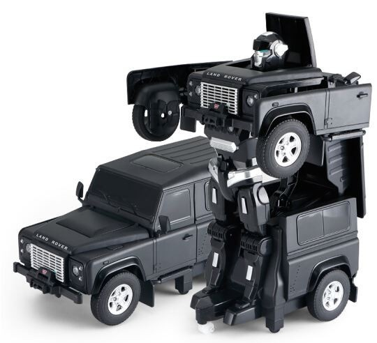 Land Rover Transformer 1:14 2.4GHz RTR - černý