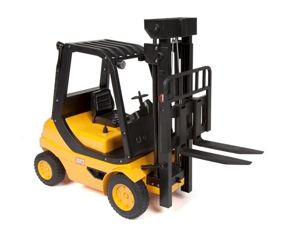 Vysokozdvižný vozík 1/8 na dálkové ovládání - ještěrka, vysokozdvih