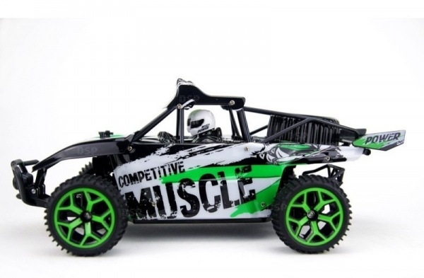 X-Knight MUSCLE Buggy 1:18 RTR, 4WD - Zelená